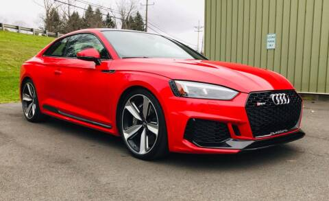 2018 Audi RS 5 for sale at EuroMotors LLC in Lee MA
