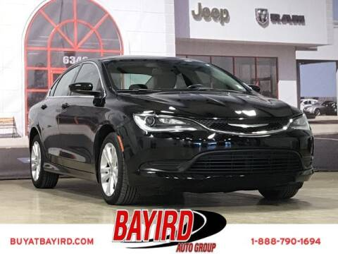 2017 Chrysler 200 for sale at Bayird Truck Center in Paragould AR