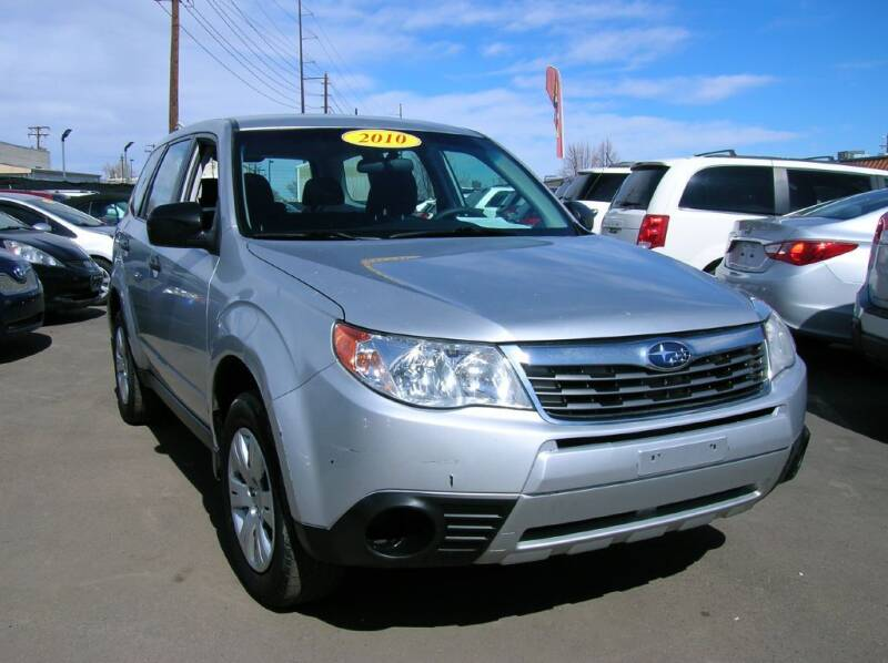 2010 Subaru Forester for sale at Avalanche Auto Sales in Denver CO