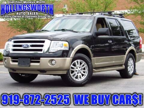 2011 Ford Expedition for sale at Hollingsworth Auto Sales in Raleigh NC
