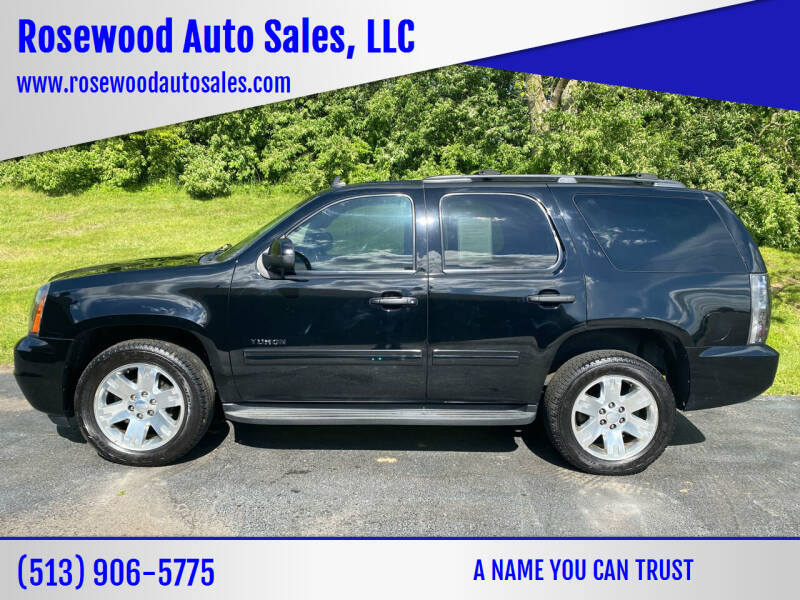2011 GMC Yukon for sale at Rosewood Auto Sales, LLC in Hamilton OH
