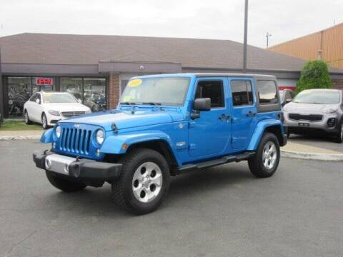 2015 Jeep Wrangler Unlimited for sale at Lynnway Auto Sales Inc in Lynn MA
