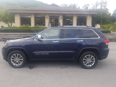 2016 Jeep Grand Cherokee for sale at K & L AUTO SALES, INC in Mill Hall PA