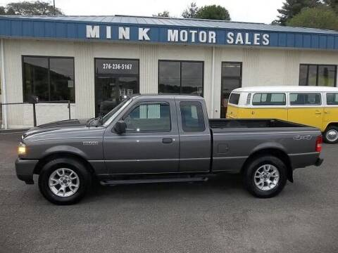 2011 Ford Ranger for sale at MINK MOTOR SALES INC in Galax VA