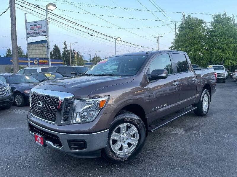 2018 Nissan Titan for sale at Real Deal Cars in Everett WA