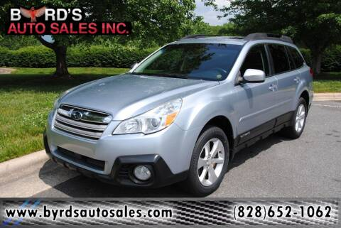 2013 Subaru Outback for sale at Byrds Auto Sales in Marion NC