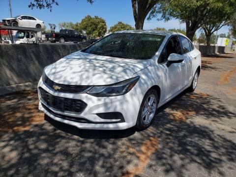 2016 Chevrolet Cruze for sale at Matador Motors in Sacramento CA