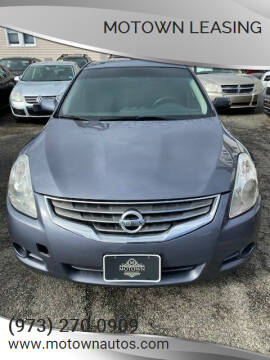 2012 Nissan Altima for sale at Motown Leasing in Morristown NJ