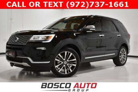 2018 Ford Explorer for sale at Bosco Auto Group in Flower Mound TX