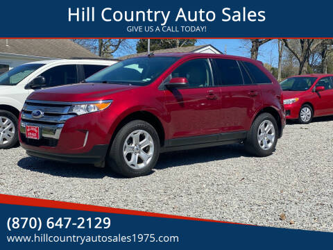2013 Ford Edge for sale at Hill Country Auto Sales in Maynard AR