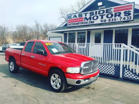 2005 Dodge Ram Pickup 1500 for sale at EASTSIDE MOTORS in Tulsa OK