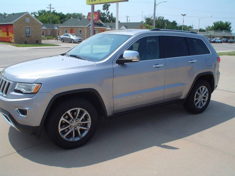 2015 Jeep Grand Cherokee for sale at World of Wheels Autoplex in Hays KS