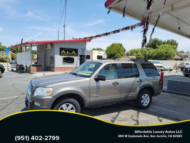 2006 Ford Explorer for sale at Affordable Luxury Autos LLC in San Jacinto CA