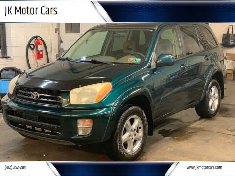 2002 Toyota RAV4 for sale at JK Motor Cars in Pittsburgh PA