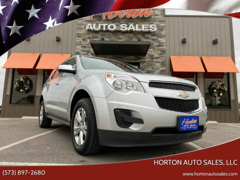 2014 Chevrolet Equinox for sale at HORTON AUTO SALES, LLC in Linn MO