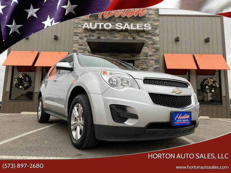 2014 Chevrolet Equinox for sale at HORTON AUTO SALES, LLC in Linn MO
