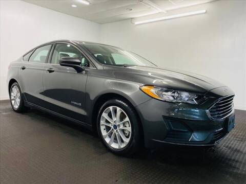 2019 Ford Fusion Hybrid for sale at Champagne Motor Car Company in Willimantic CT