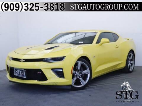 2017 Chevrolet Camaro for sale at STG Auto Group in Montclair CA