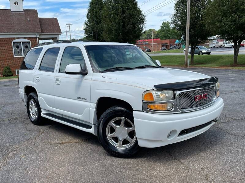 2002 GMC Yukon for sale at Mike's Wholesale Cars in Newton NC