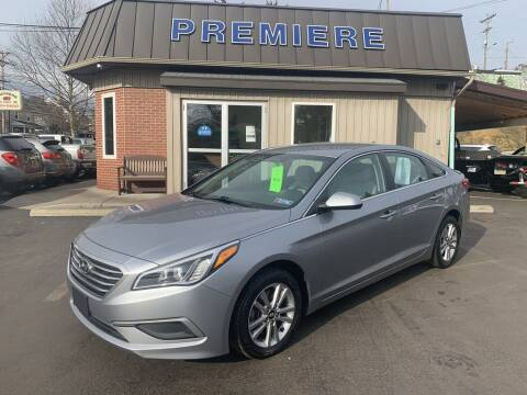 2016 Hyundai Sonata for sale at Premiere Auto Sales in Washington PA