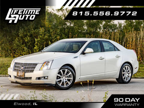 2008 Cadillac CTS for sale at Lifetime Auto in Elwood IL