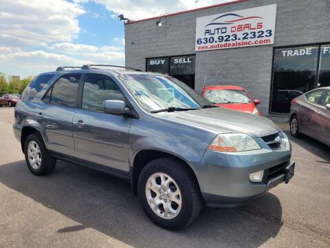 2002 Acura MDX for sale at Auto Deals in Roselle IL