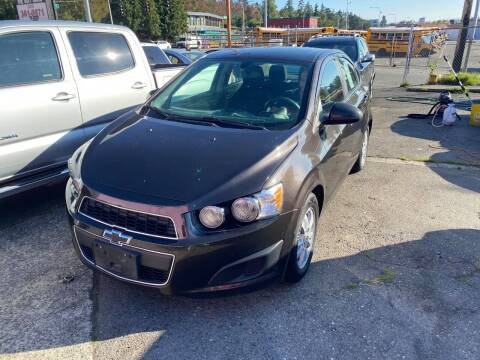 2015 Chevrolet Sonic for sale at SNS AUTO SALES in Seattle WA
