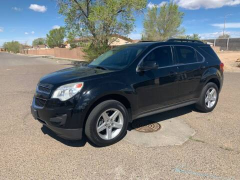 2013 Chevrolet Equinox for sale at Top Gun Auto Sales, LLC in Albuquerque NM