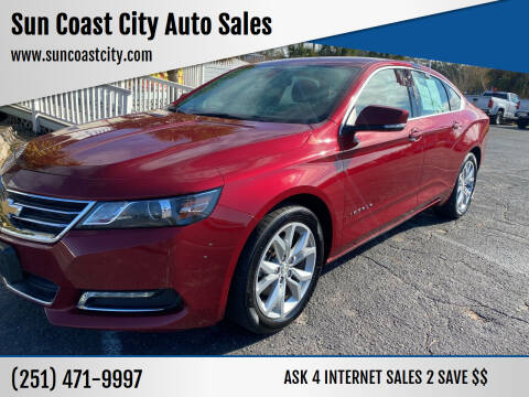 2019 Chevrolet Impala for sale at Sun Coast City Auto Sales in Mobile AL