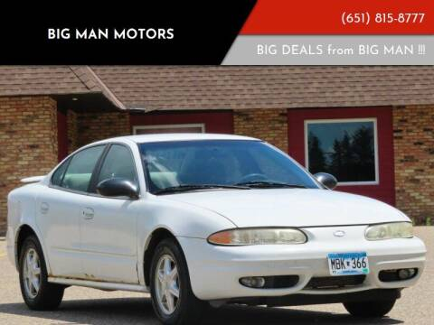 2004 Oldsmobile Alero for sale at Big Man Motors in Farmington MN