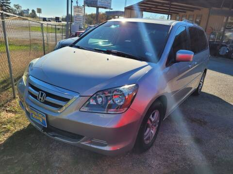 2006 Honda Odyssey for sale at COLLECTABLE-CARS LLC in Nacogdoches TX