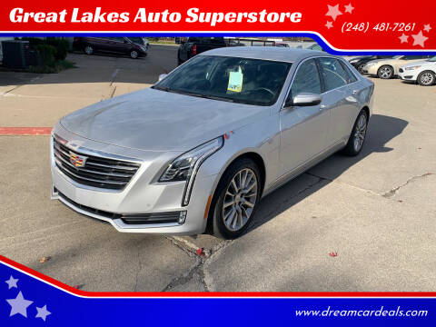 2016 Cadillac CT6 for sale at Great Lakes Auto Superstore in Pontiac MI