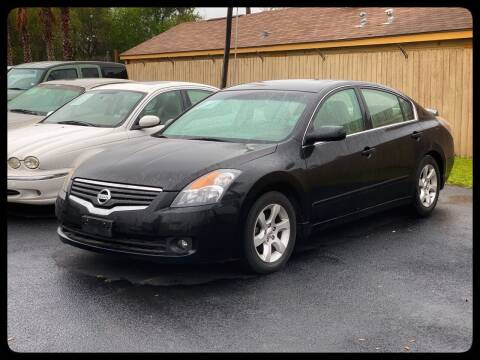 2008 Nissan Altima for sale at ASTRO MOTORS in Houston TX