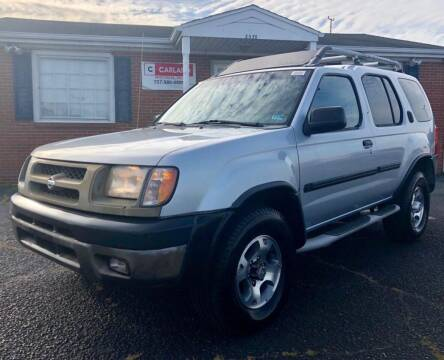 2000 Nissan Xterra for sale at Carland Auto Sales INC. in Portsmouth VA