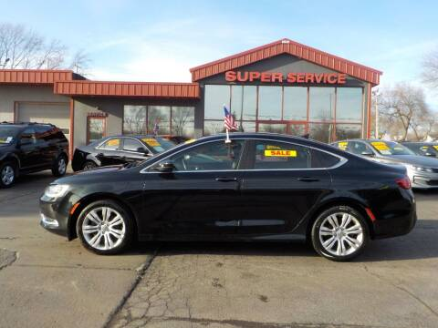 2016 Chrysler 200 for sale at Super Service Used Cars in Milwaukee WI