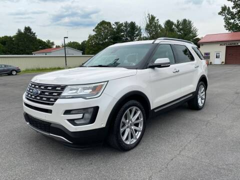 2016 Ford Explorer for sale at Alexandria Auto Mart LLC in Alexandria PA
