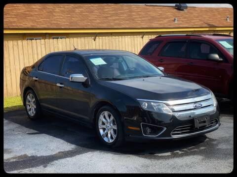 2012 Ford Fusion for sale at ASTRO MOTORS in Houston TX