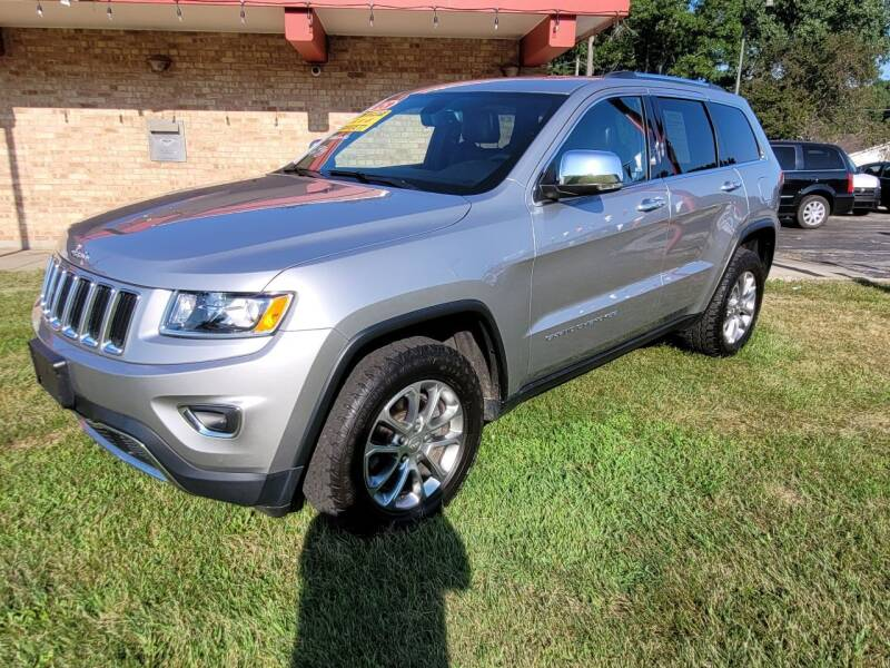 2015 Jeep Grand Cherokee for sale at Murdock Used Cars in Niles MI