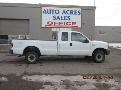 1999 Ford F-250 Super Duty for sale at Auto Acres in Billings MT