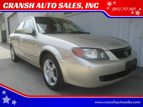 2003 Mazda Protege for sale at CRANSH AUTO SALES, INC in Arlington TX
