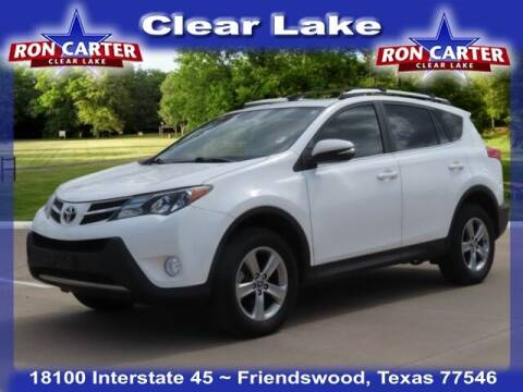 2015 Toyota RAV4 for sale at Ron Carter  Clear Lake Used Cars in Houston TX