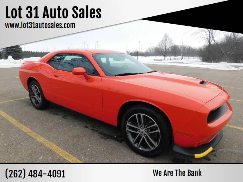2019 Dodge Challenger for sale at Lot 31 Auto Sales in Kenosha WI