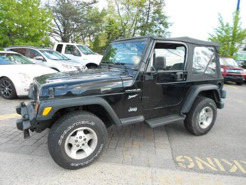 2002 Jeep Wrangler for sale at Precision Auto Sales of New York in Farmingdale NY