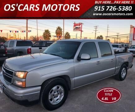 2003 Chevrolet Silverado 1500 for sale at Os'Cars Motors in El Paso TX