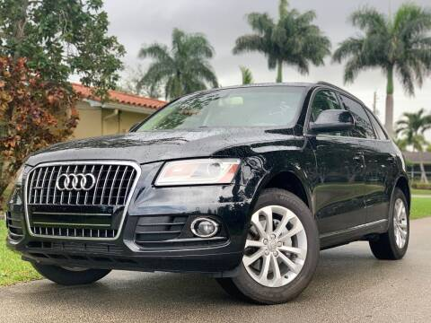 2013 Audi Q5 for sale at HIGH PERFORMANCE MOTORS in Hollywood FL