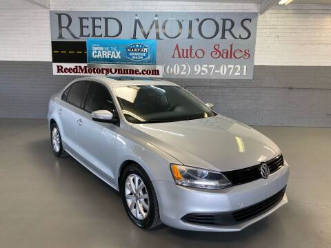2012 Volkswagen Jetta for sale at REED MOTORS LLC in Phoenix AZ