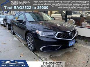 2018 Acura TLX for sale at Best Auto Outlet in Floral Park NY