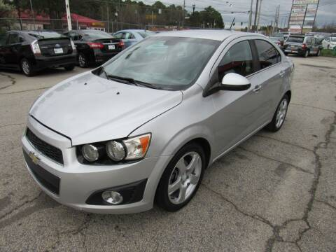 2015 Chevrolet Sonic for sale at King of Auto in Stone Mountain GA