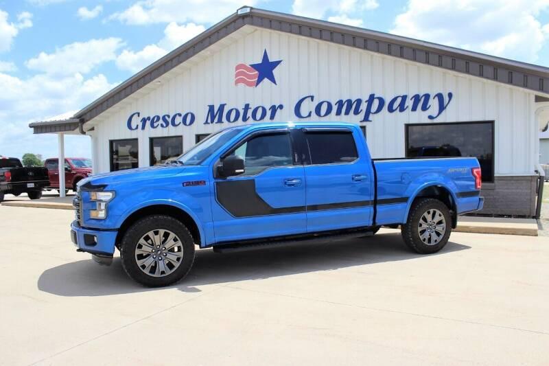 2016 Ford F-150 for sale at Cresco Motor Company in Cresco IA