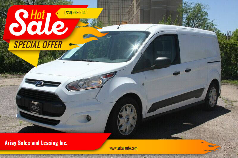 2016 Ford Transit Connect Cargo for sale at Ariay Sales and Leasing Inc. in Denver CO